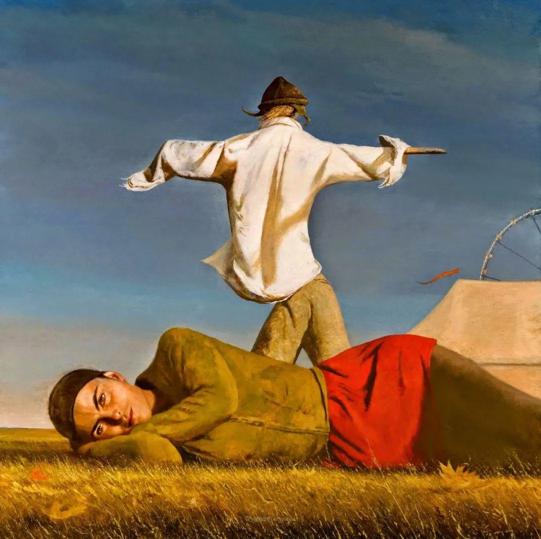 美国当代现实主义画家Bo Bartlett插图1