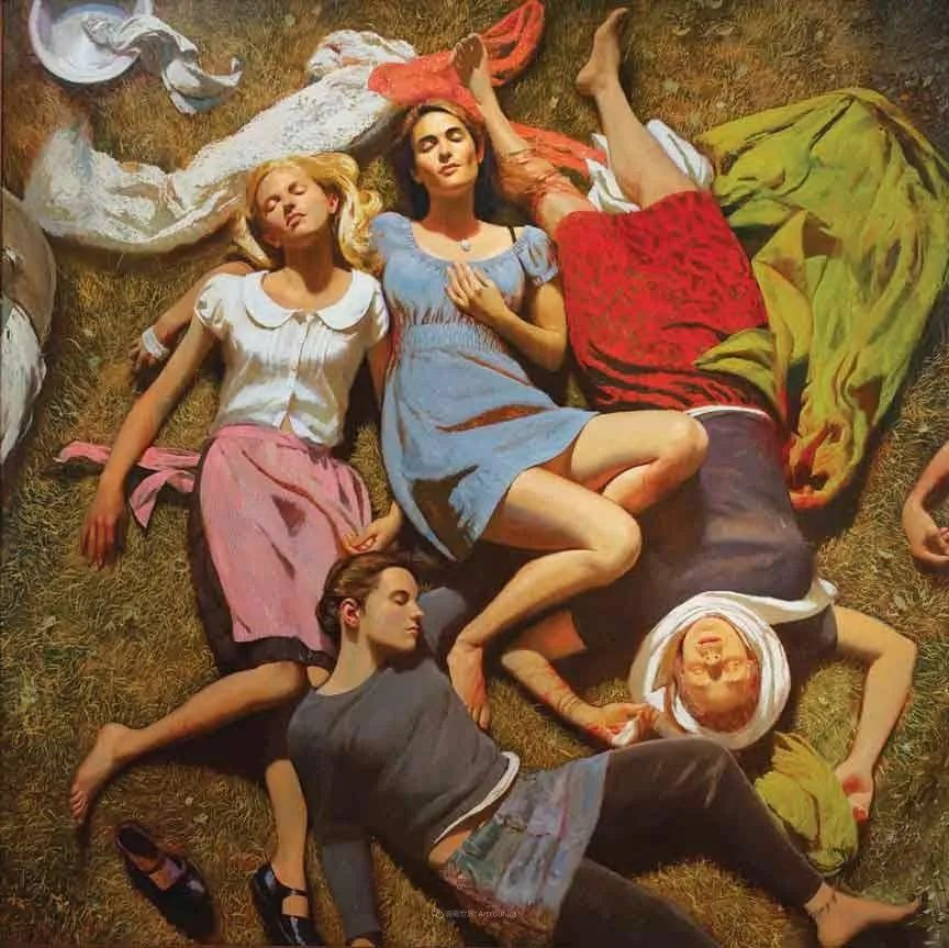 美国当代现实主义画家Bo Bartlett插图9