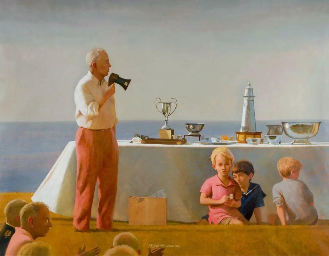 美国当代现实主义画家Bo Bartlett插图87
