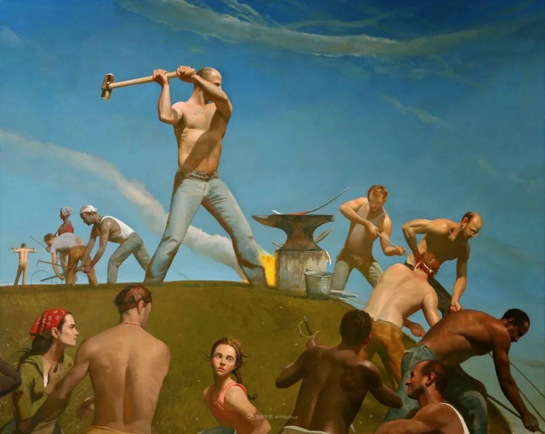 美国当代现实主义画家Bo Bartlett插图97