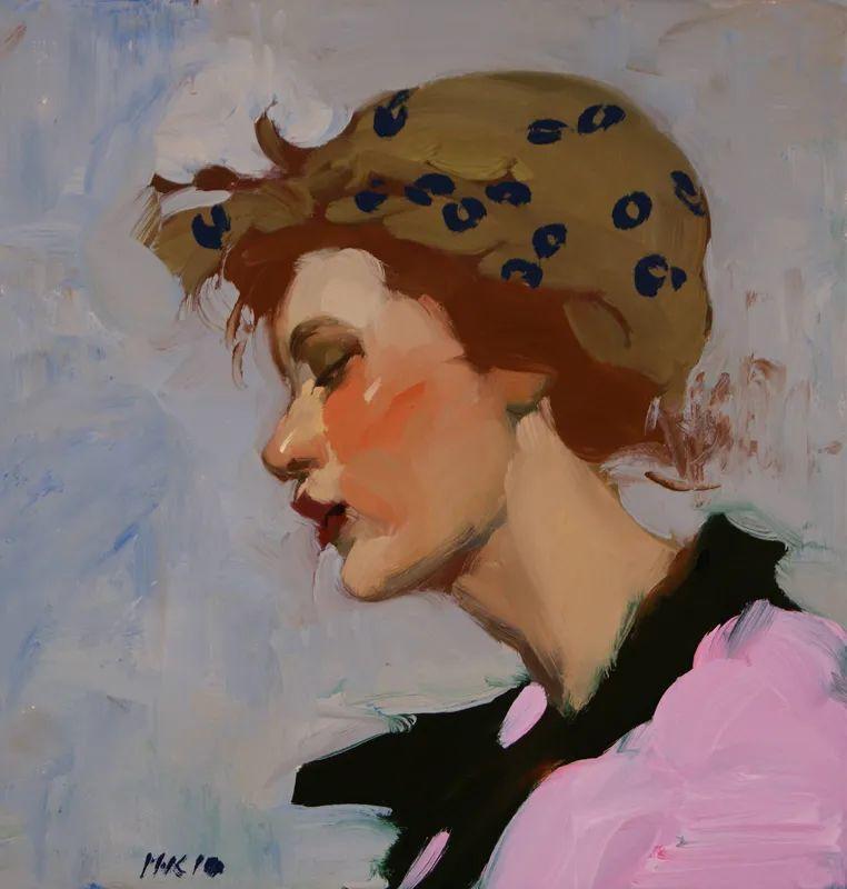 在他的油画中,有一种静谧的精致感插图3