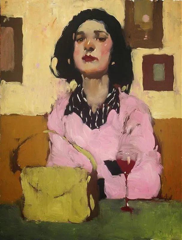 在他的油画中,有一种静谧的精致感插图9