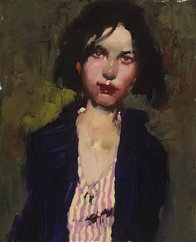 在他的油画中,有一种静谧的精致感插图11