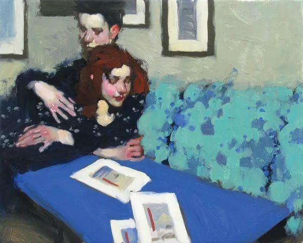 在他的油画中,有一种静谧的精致感插图15