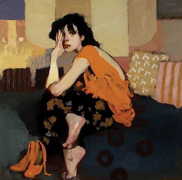 在他的油画中,有一种静谧的精致感插图19