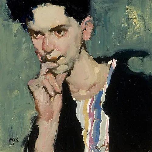 在他的油画中,有一种静谧的精致感插图23