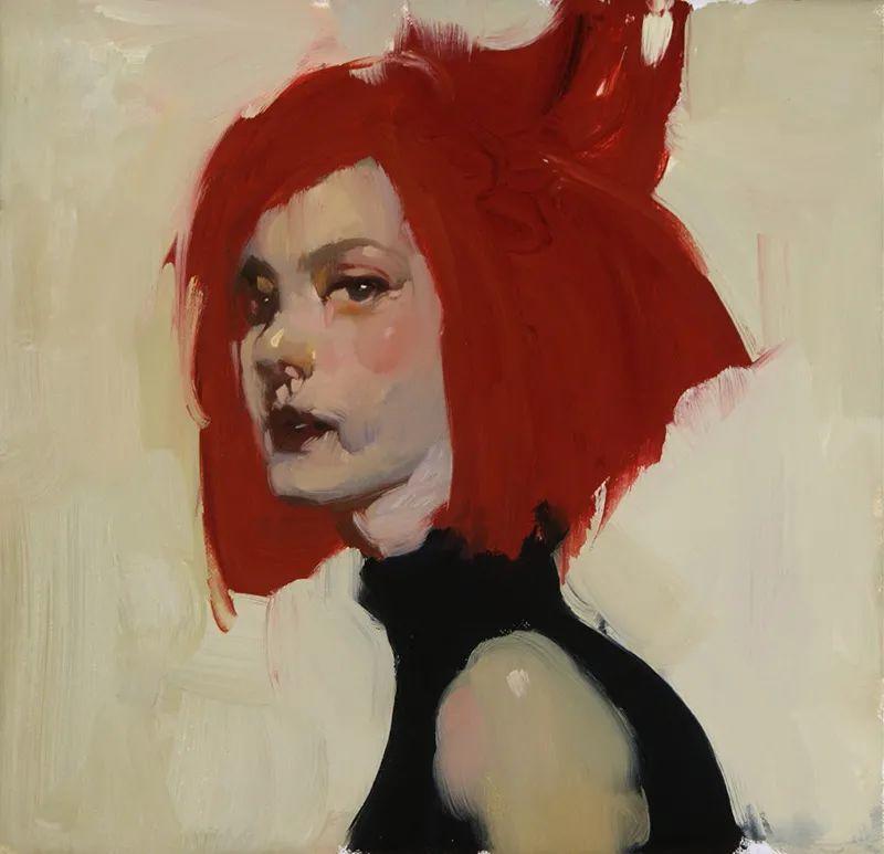 在他的油画中,有一种静谧的精致感插图27