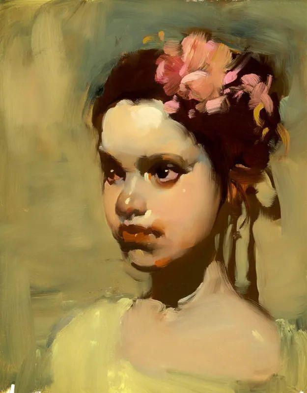 在他的油画中,有一种静谧的精致感插图29
