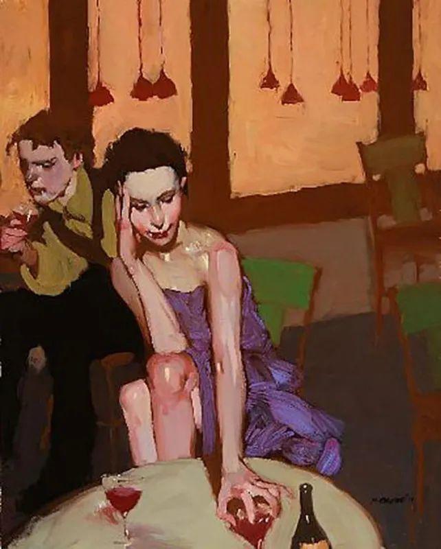 在他的油画中,有一种静谧的精致感插图31