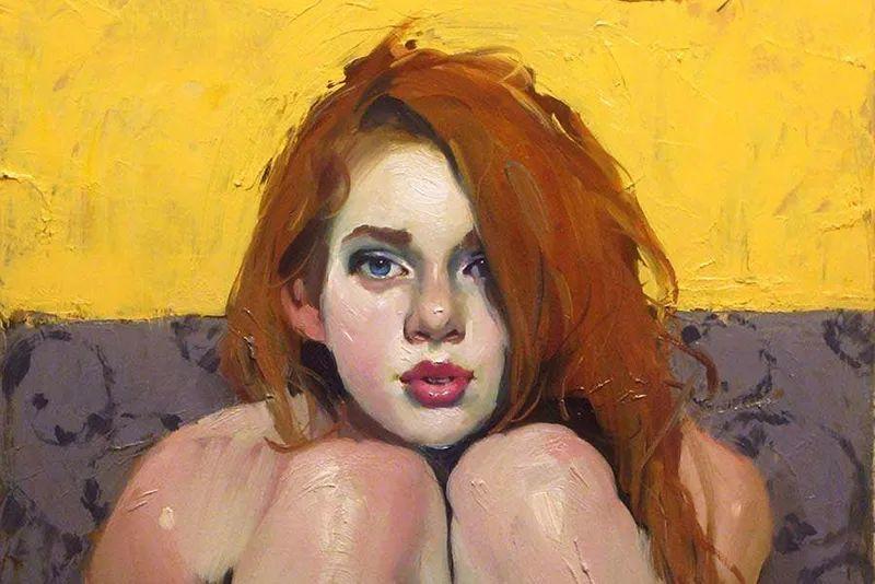 在他的油画中,有一种静谧的精致感插图33