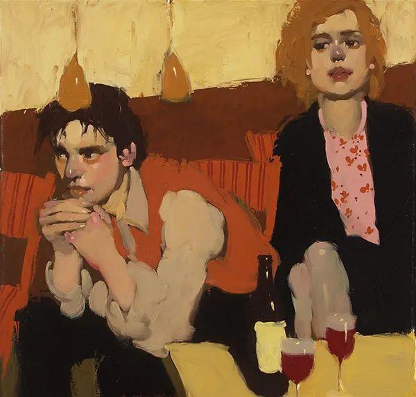 在他的油画中,有一种静谧的精致感插图37