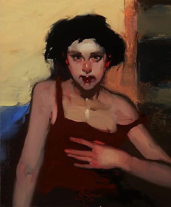 在他的油画中,有一种静谧的精致感插图39
