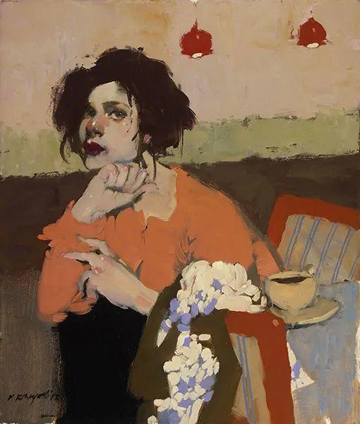 在他的油画中,有一种静谧的精致感插图41