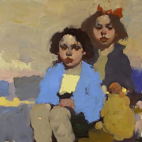 在他的油画中,有一种静谧的精致感插图43