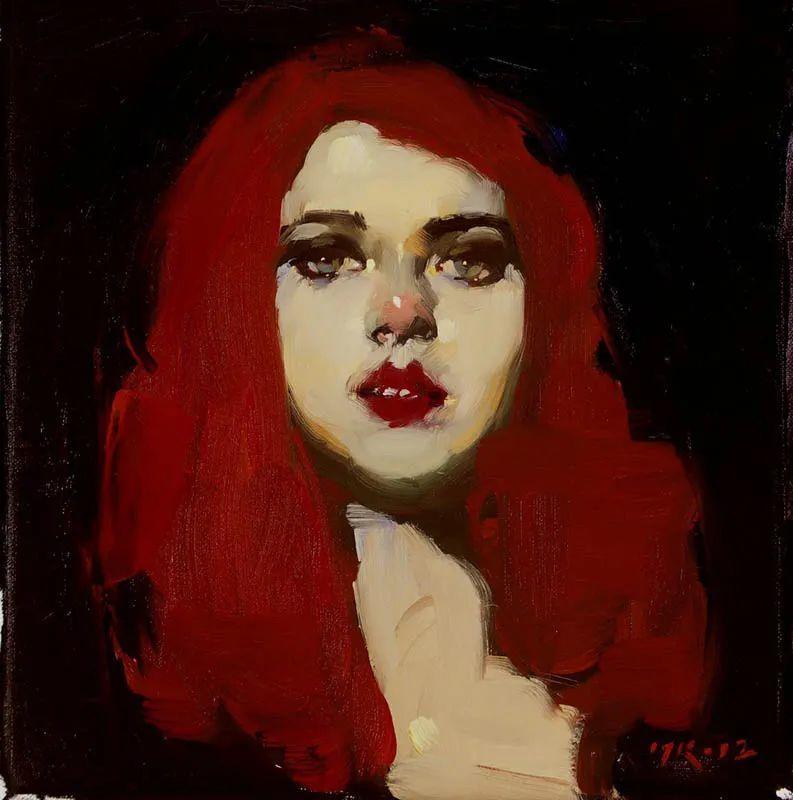 在他的油画中,有一种静谧的精致感插图45