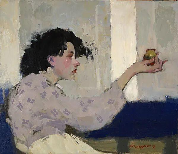 在他的油画中,有一种静谧的精致感插图47