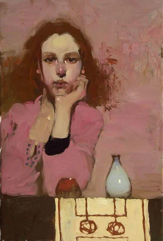 在他的油画中,有一种静谧的精致感插图51