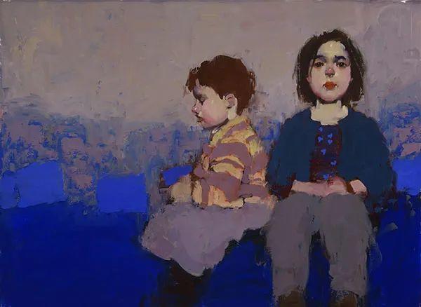 在他的油画中,有一种静谧的精致感插图53