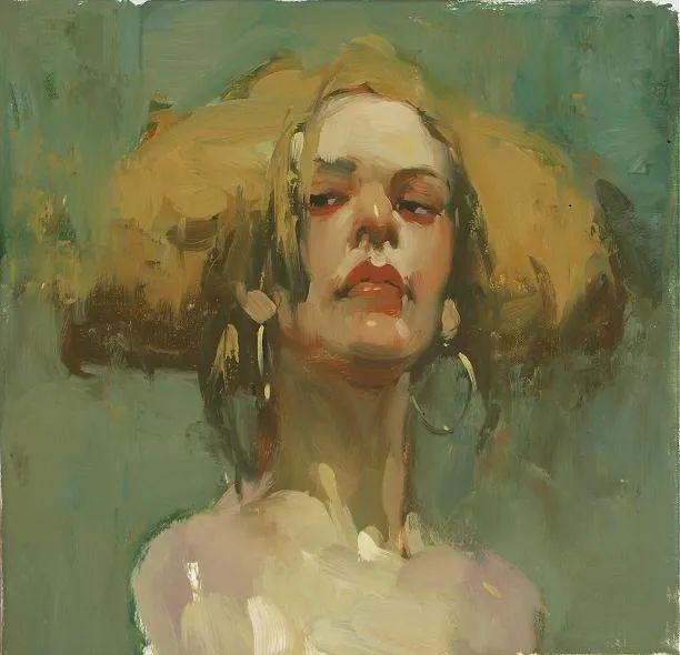 在他的油画中,有一种静谧的精致感插图55