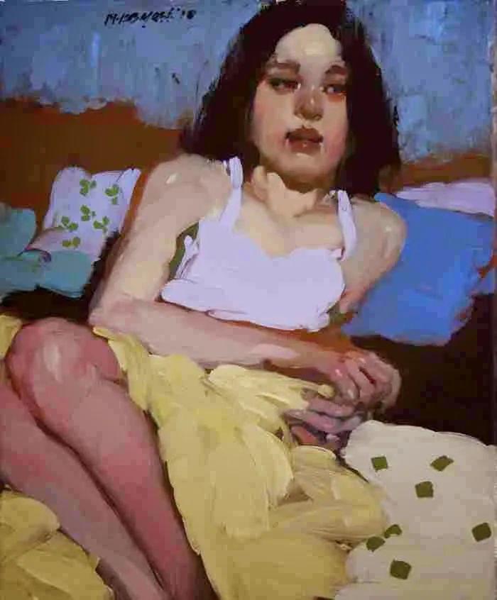 在他的油画中,有一种静谧的精致感插图57