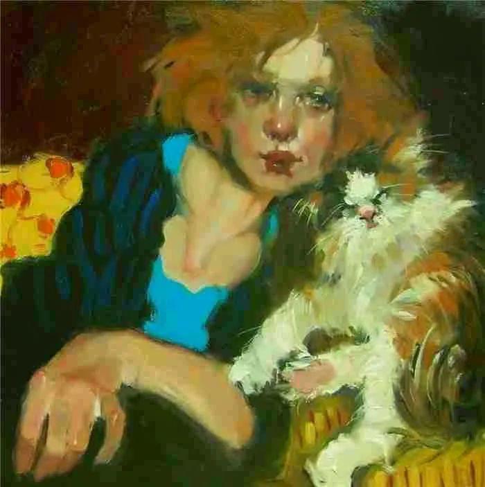 在他的油画中,有一种静谧的精致感插图61