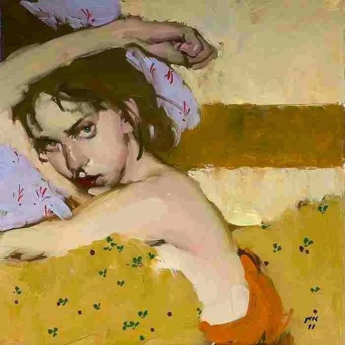 在他的油画中,有一种静谧的精致感插图67