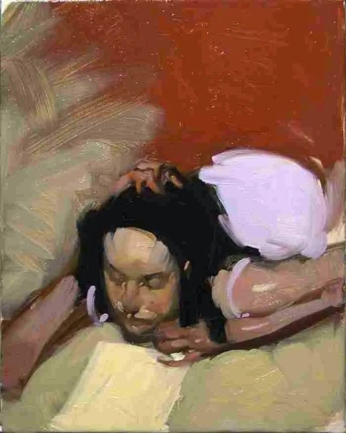 在他的油画中,有一种静谧的精致感插图71