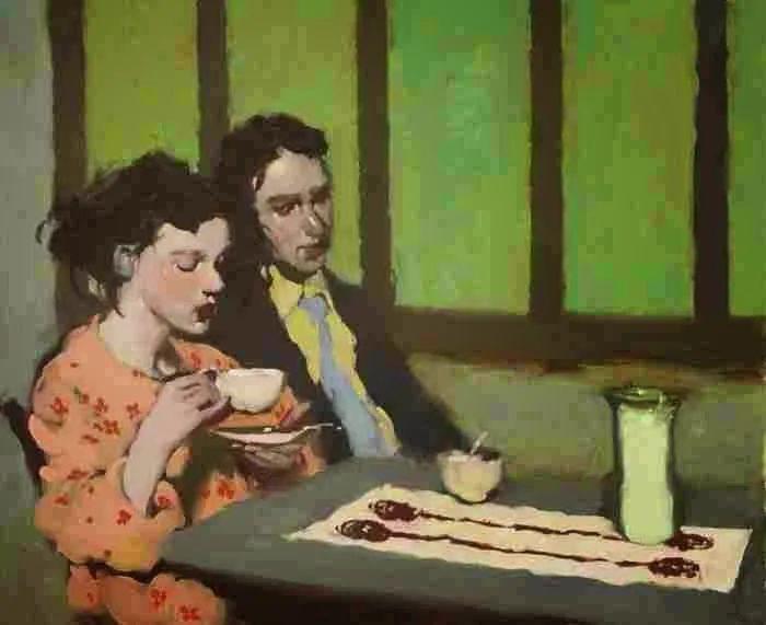 在他的油画中,有一种静谧的精致感插图73