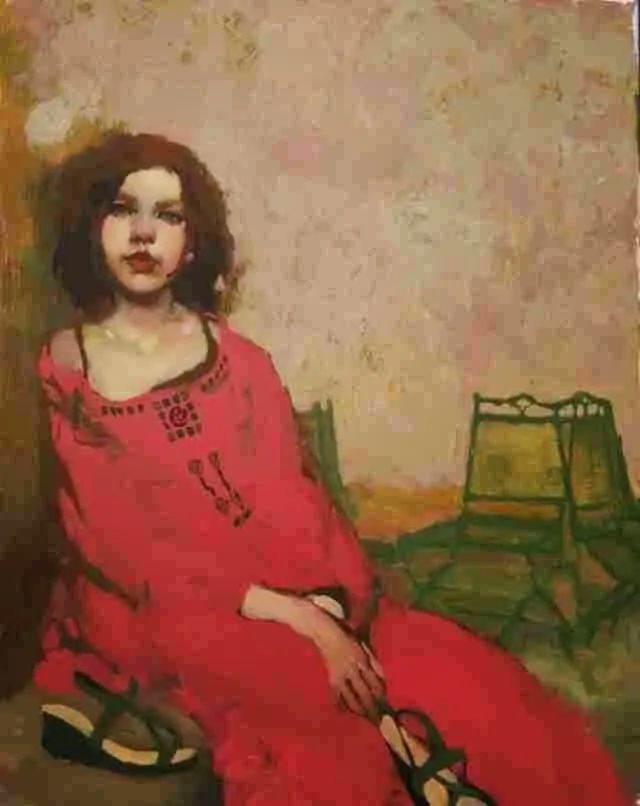 在他的油画中,有一种静谧的精致感插图75