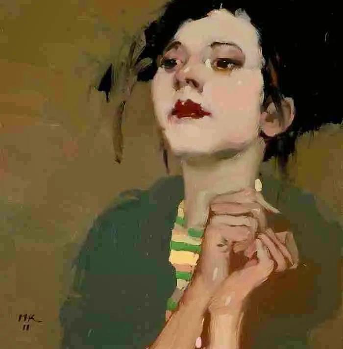 在他的油画中,有一种静谧的精致感插图81