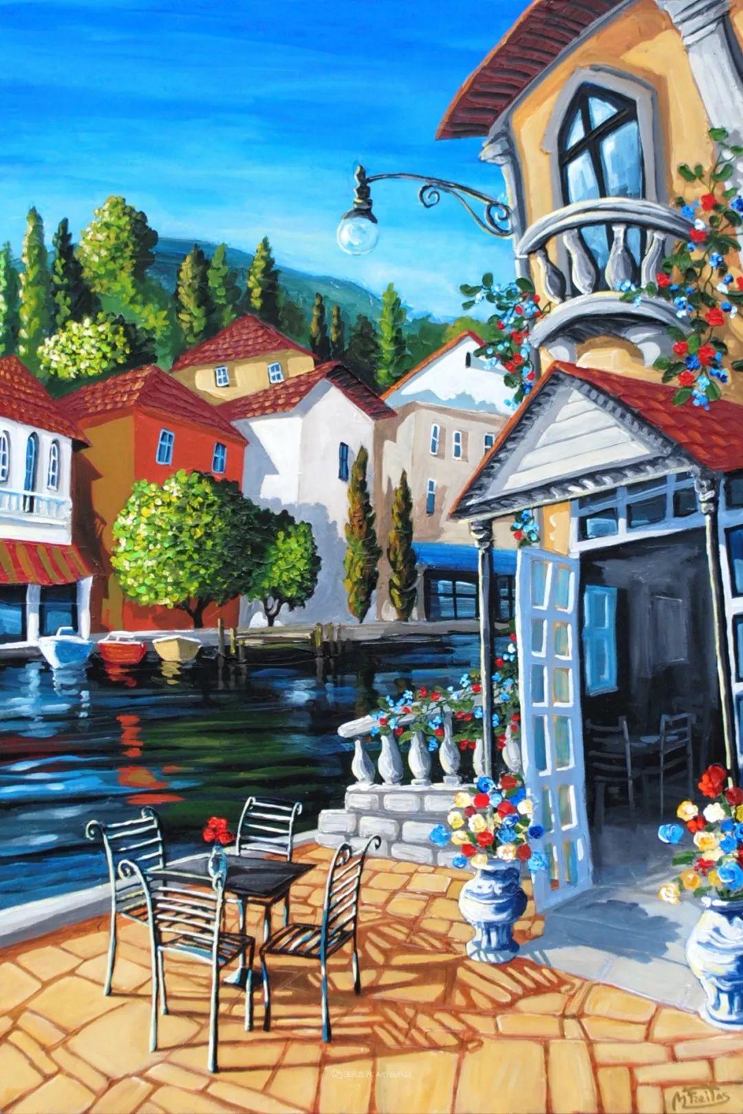 独特的风格,鲜艳的色彩!葡萄牙画家米格尔·弗雷塔斯插图3