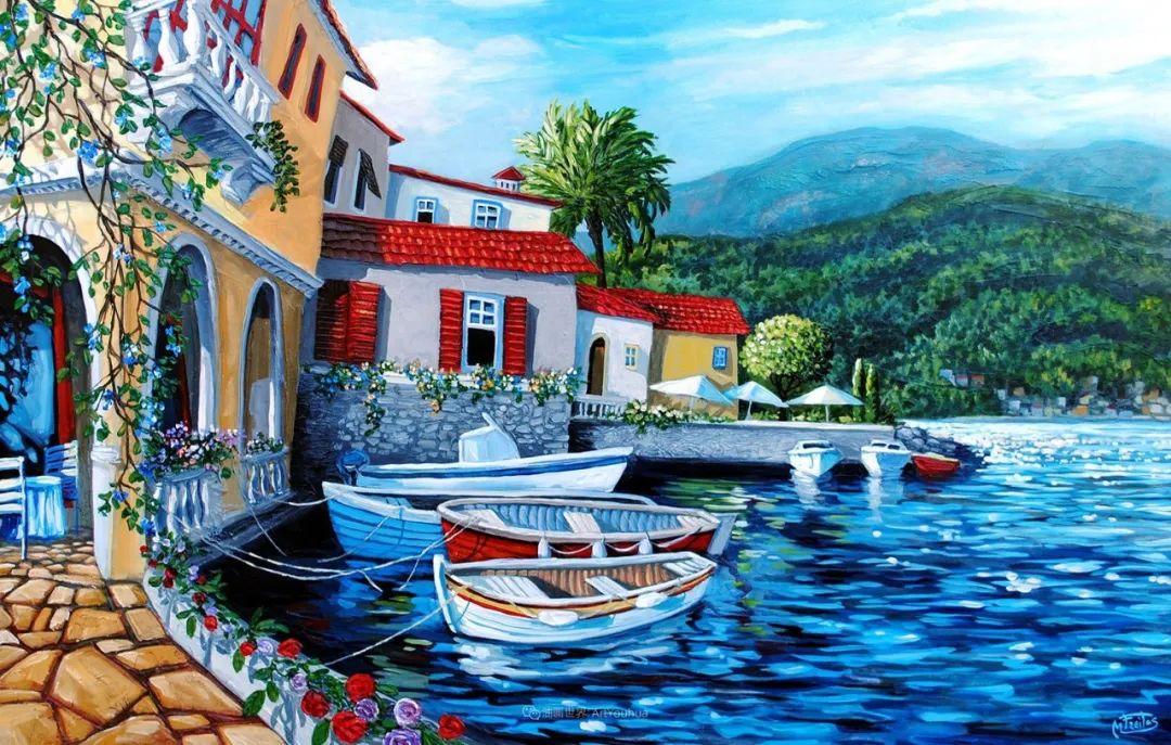 独特的风格,鲜艳的色彩!葡萄牙画家米格尔·弗雷塔斯插图11