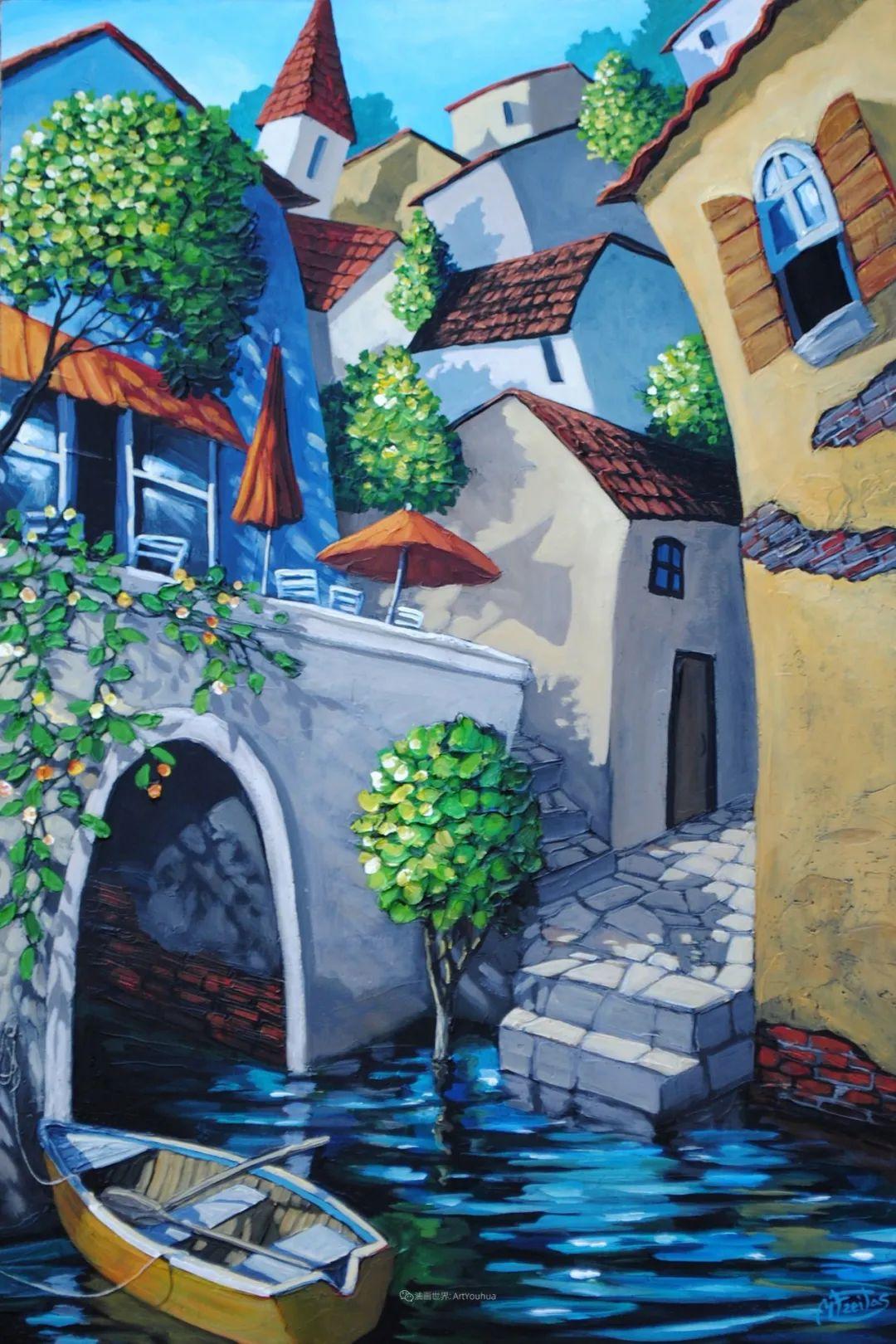 独特的风格,鲜艳的色彩!葡萄牙画家米格尔·弗雷塔斯插图19