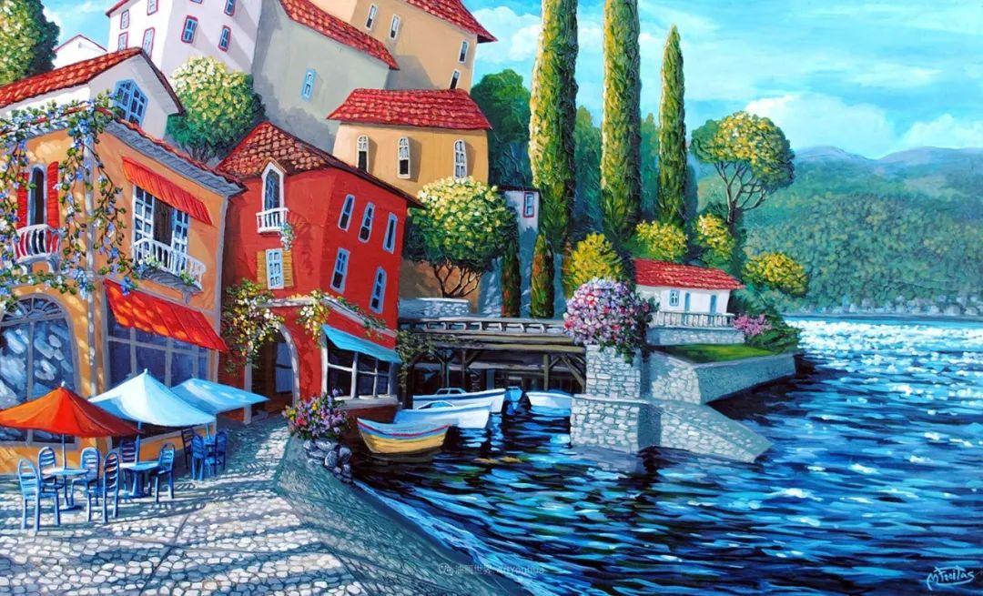 独特的风格,鲜艳的色彩!葡萄牙画家米格尔·弗雷塔斯插图25