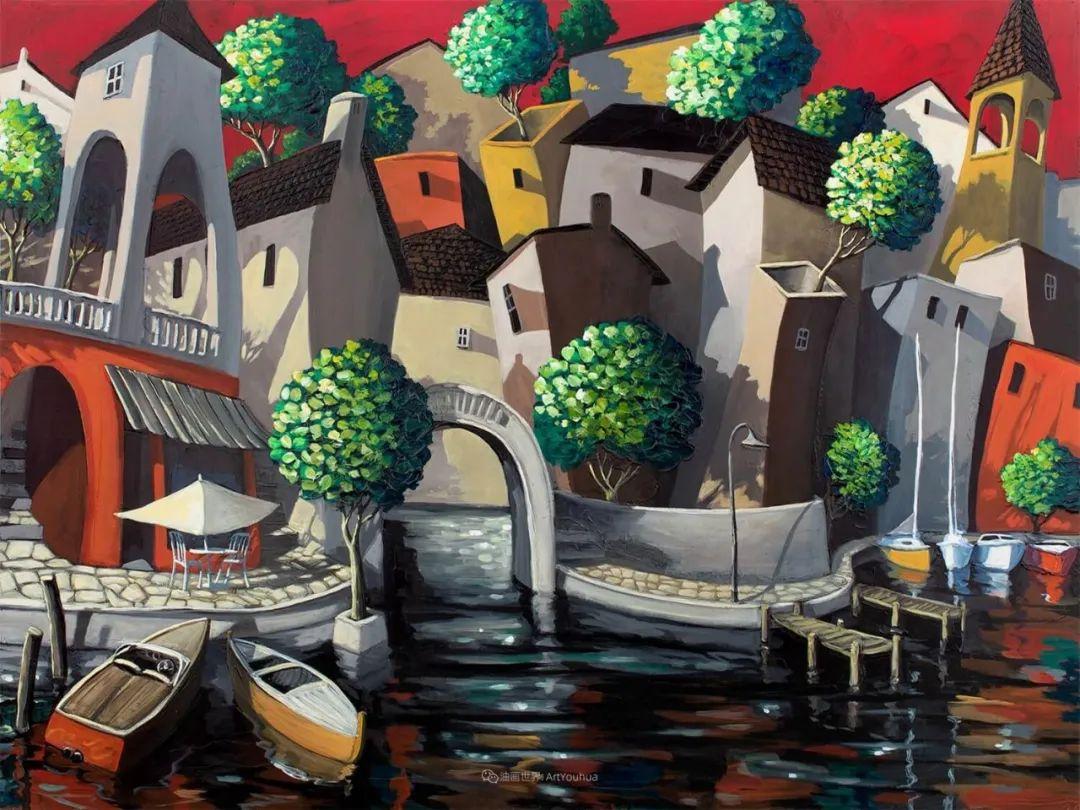 独特的风格,鲜艳的色彩!葡萄牙画家米格尔·弗雷塔斯插图29