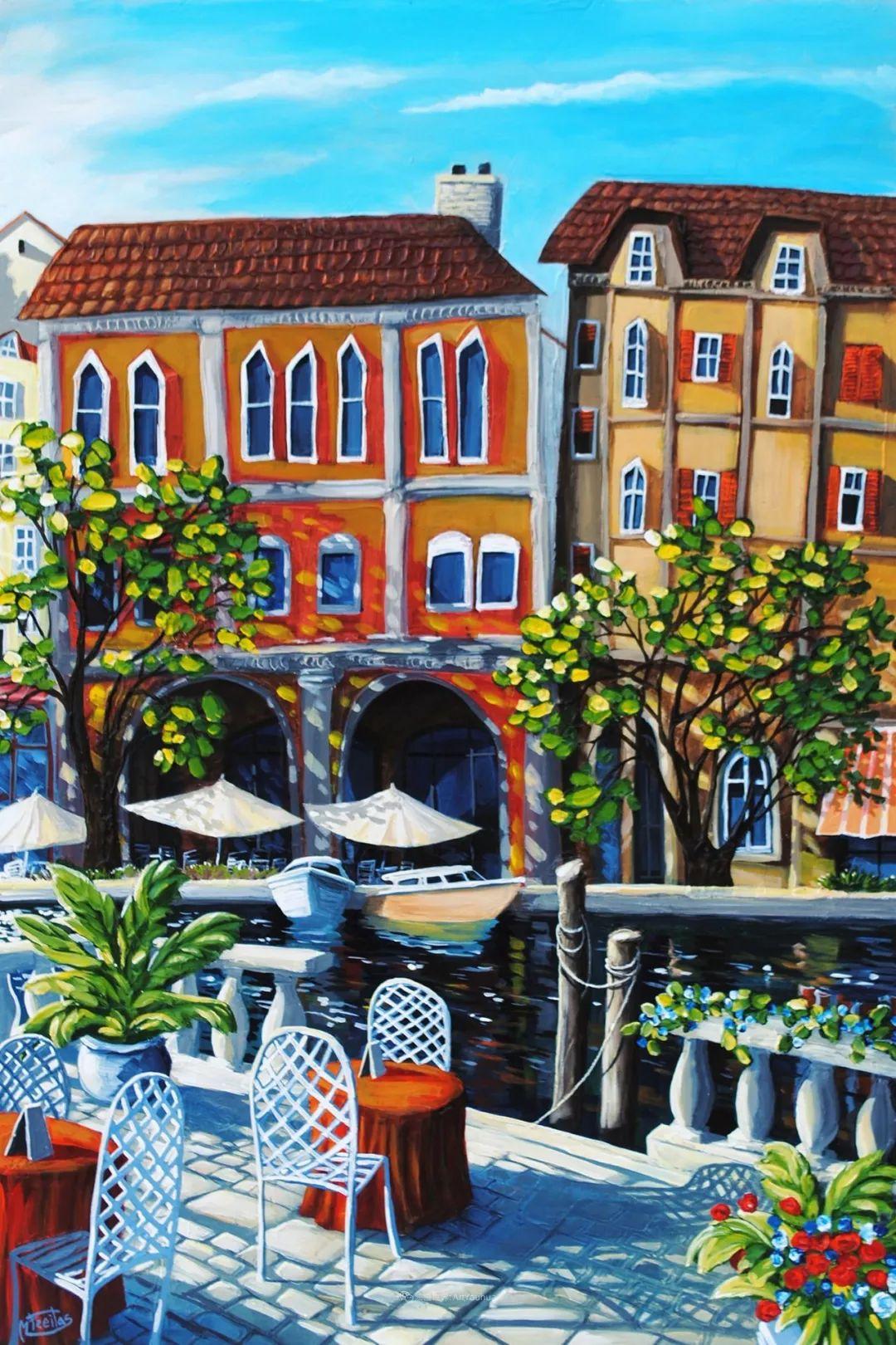 独特的风格,鲜艳的色彩!葡萄牙画家米格尔·弗雷塔斯插图31