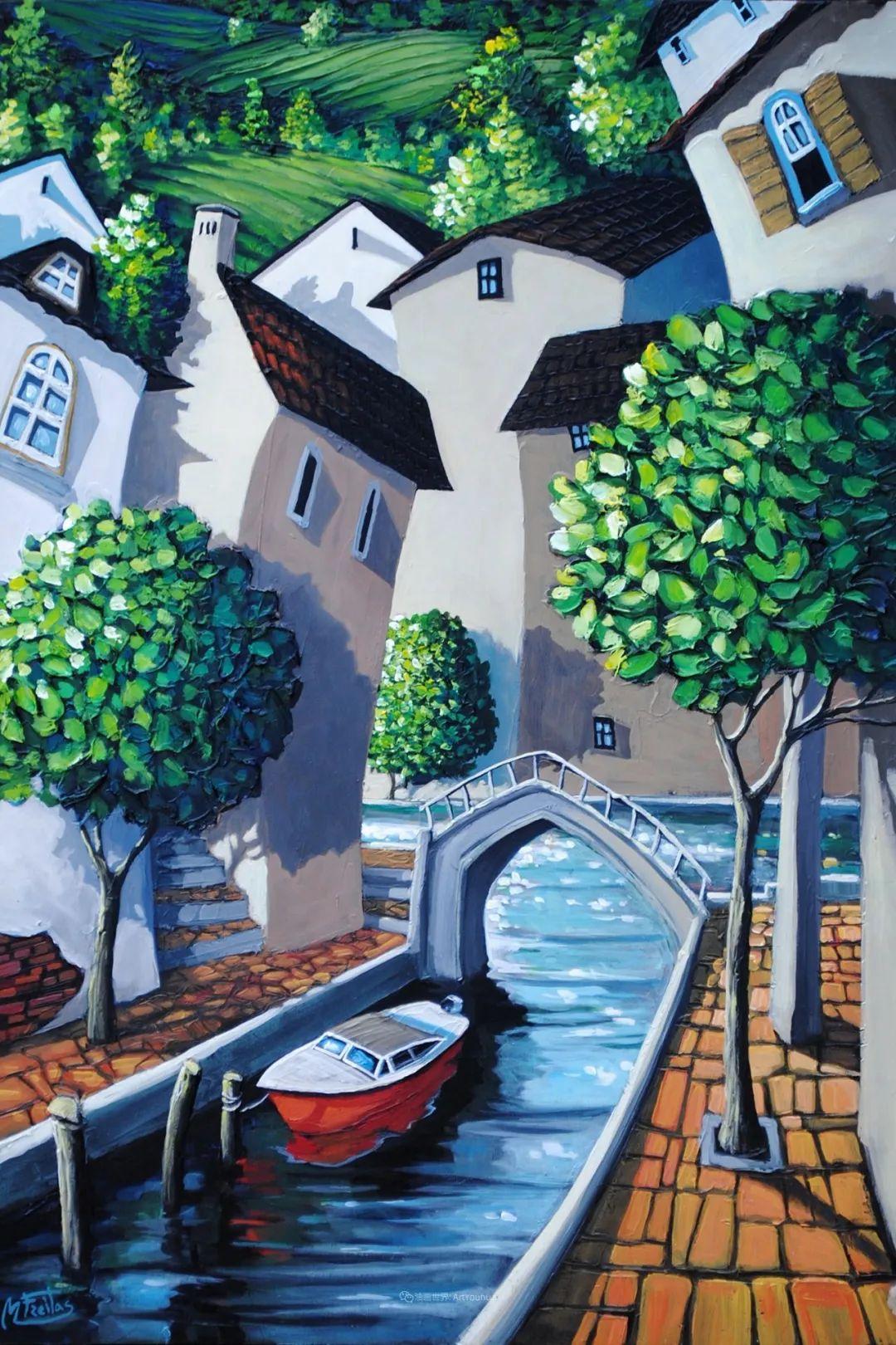 独特的风格,鲜艳的色彩!葡萄牙画家米格尔·弗雷塔斯插图33