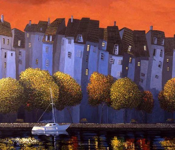 独特的风格,鲜艳的色彩!葡萄牙画家米格尔·弗雷塔斯插图51