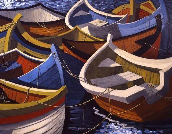 独特的风格,鲜艳的色彩!葡萄牙画家米格尔·弗雷塔斯插图53