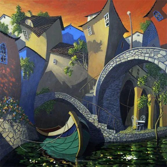 独特的风格,鲜艳的色彩!葡萄牙画家米格尔·弗雷塔斯插图55