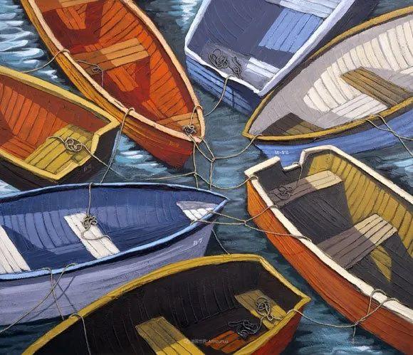 独特的风格,鲜艳的色彩!葡萄牙画家米格尔·弗雷塔斯插图61