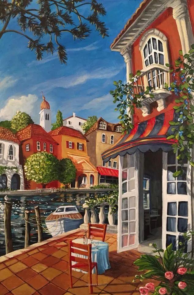 独特的风格,鲜艳的色彩!葡萄牙画家米格尔·弗雷塔斯插图67