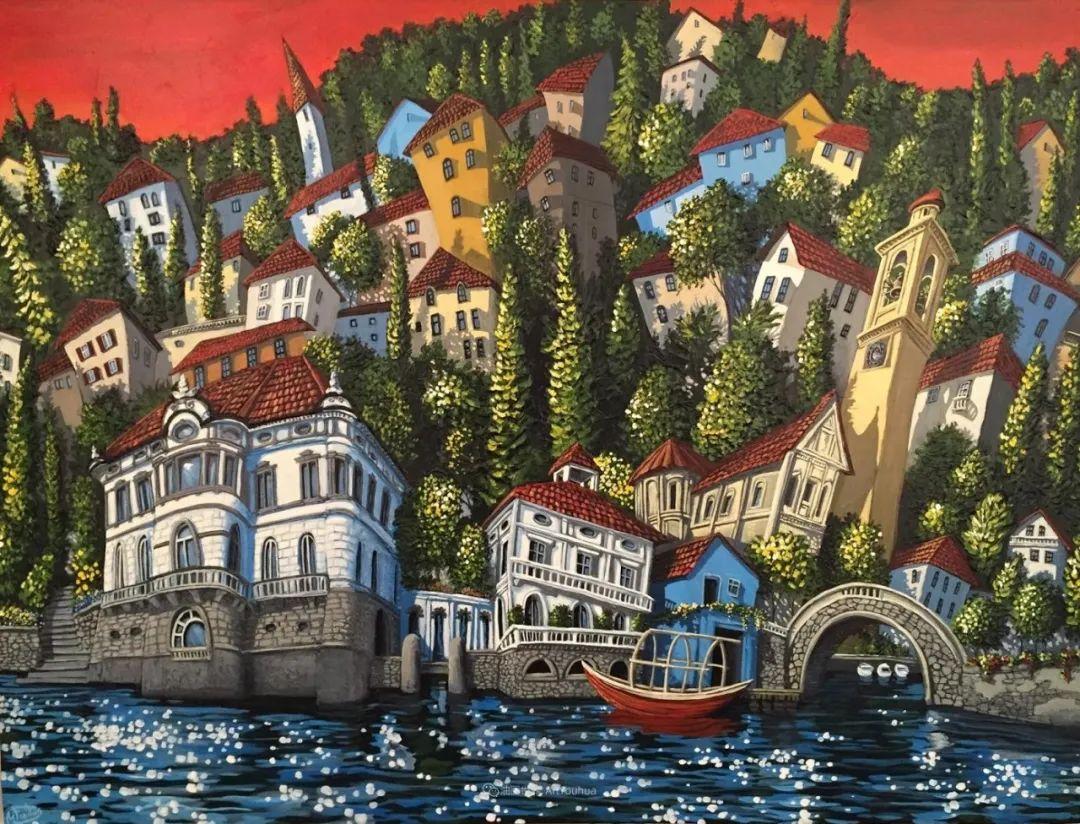 独特的风格,鲜艳的色彩!葡萄牙画家米格尔·弗雷塔斯插图75