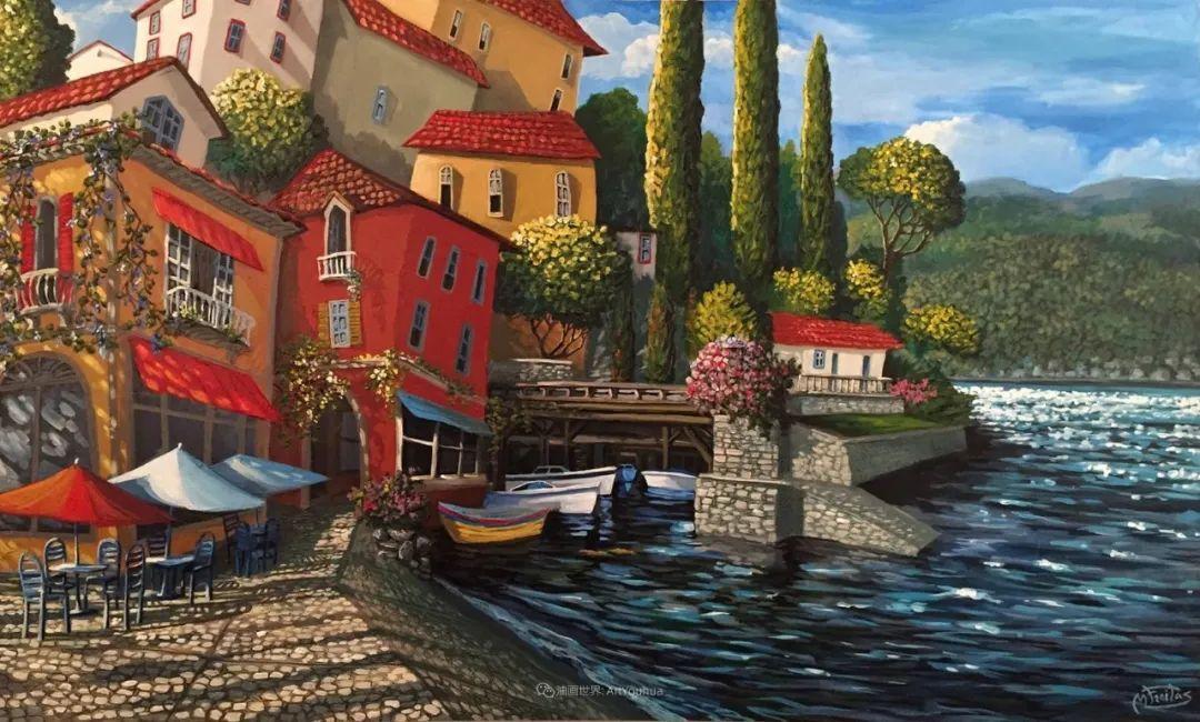 独特的风格,鲜艳的色彩!葡萄牙画家米格尔·弗雷塔斯插图79