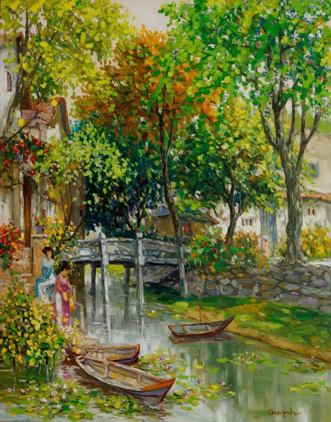 越南画家笔下的美景、美人!插图2