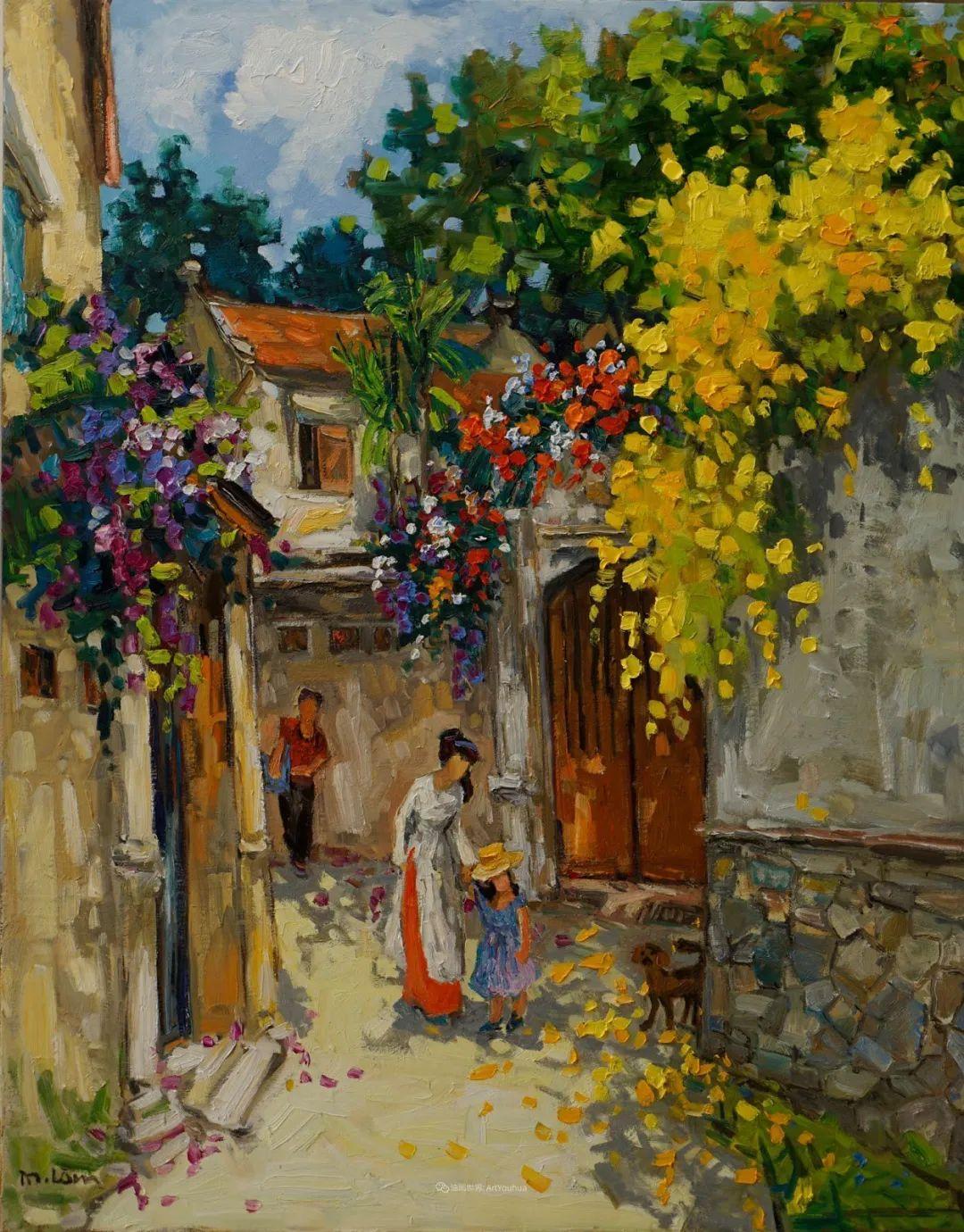 越南画家笔下的美景、美人!插图4