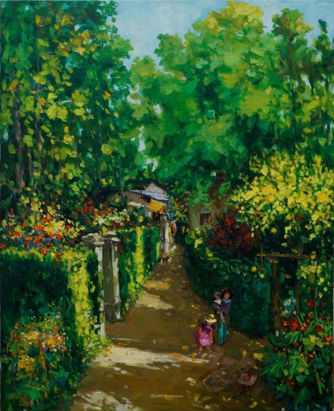 越南画家笔下的美景、美人!插图8