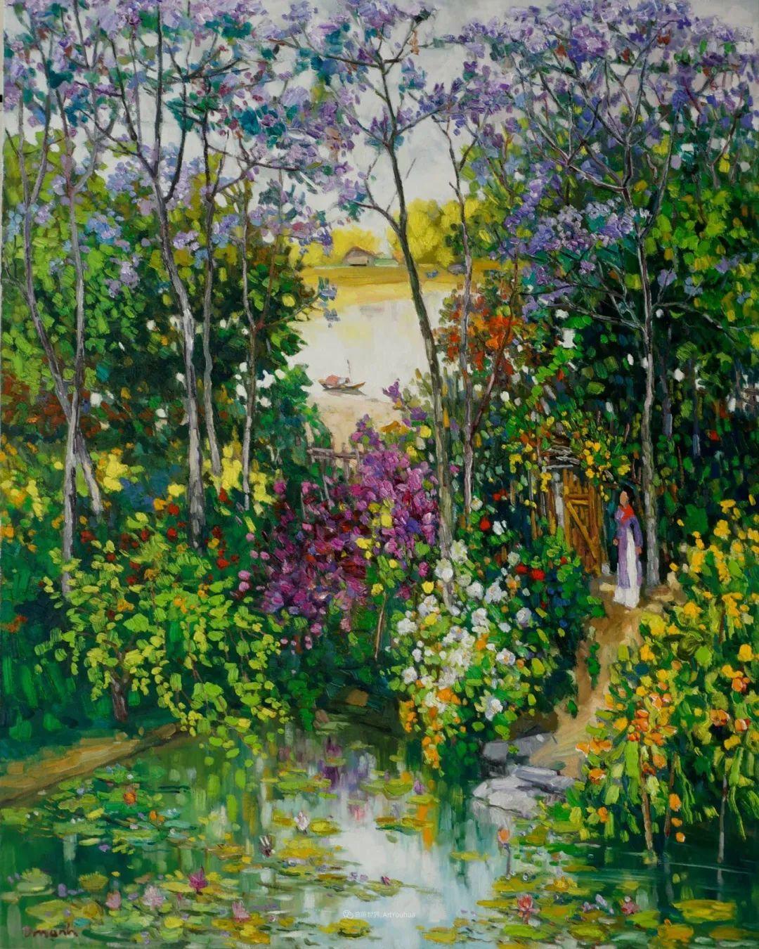 越南画家笔下的美景、美人!插图9
