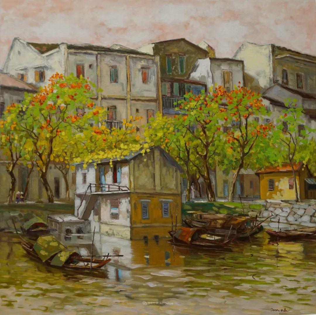 越南画家笔下的美景、美人!插图11