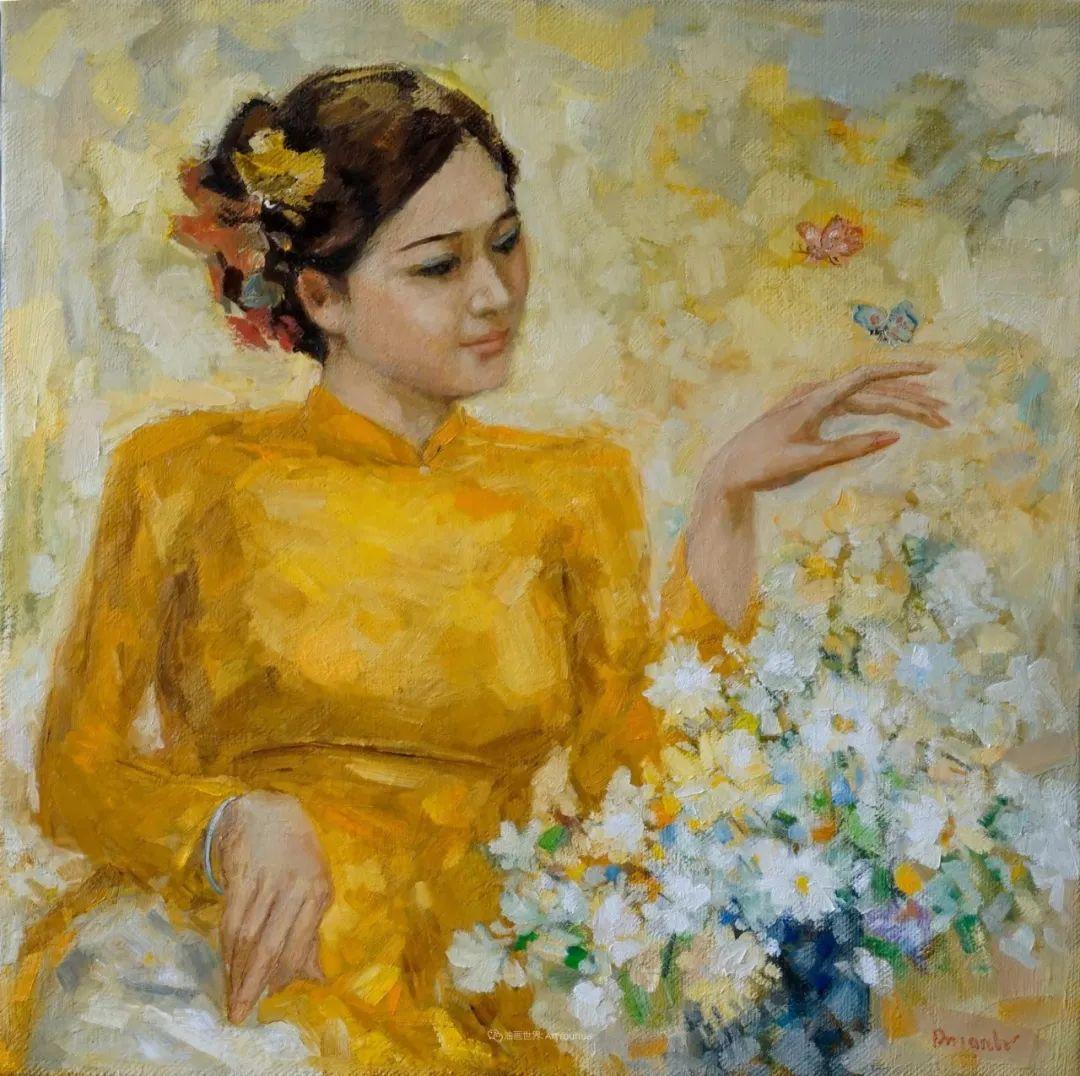 越南画家笔下的美景、美人!插图12